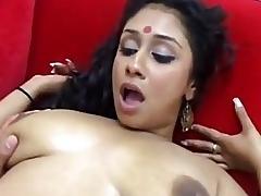 sexy indian chick fucks buff guy