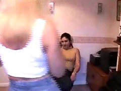 Indian malvina and british lisa amatuer split lickers 3