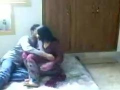 Hawt desi woman making love with her boyfriend on hidden web camera