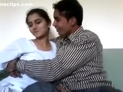 Cute Hawt Pakistani Ultra-cutie With Paramour Home Sex