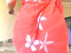 Hot Arab Gazoo Clapping in Dress